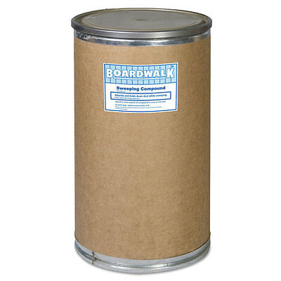 Boardwalk Oil-Based Sweeping Compound Grit 300lbs Drum 9300