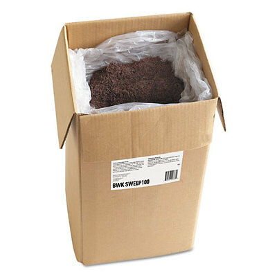 Boardwalk Oil-Based Sweeping Compound 100lb Box SWEEP100