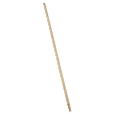 """Rubbermaid Commercial Tapered-Tip Wood Broom/Sweep Handle 60"""" Natural 6362"""