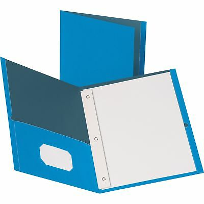 "MyOfficeInnovations 2-Pocket Folders 100 Sh Cap Ltr 9-1/2""x11"" 25/BX LBE 3254222"