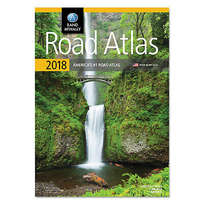 Rand McNally Road Atlas Glue Top 144 Pages 2018 Edition RM528017314