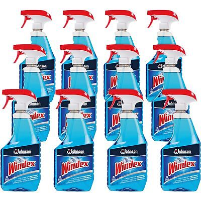 0e529e3b1a13 Windex Glass Cleaner w Unattached Trigger 32 oz 12 CT 695237CT