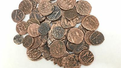 Bulk Lot of Clean Genuine Ancient Coins - Byzantine AD Bronze