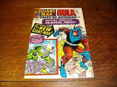 Tales to Astonish 65 Fine 6.0 1964 Issue New Giant-Man