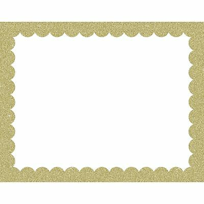"Pacon Poster Board Scalloped Border 28""x1/50""x22"" 25/CT GD/WE CAR40011"