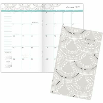 """AT-A-GLANCE Planner Monthly Pocket 2 Yr Jan-Jan 3-5/8""""x6-1/16"""" 5138S021"""