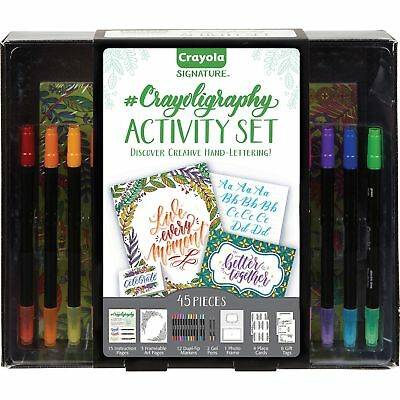 Crayola Activity Set w/Pens/Paper 45 pieces/Set AST 040346