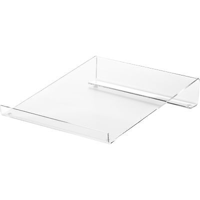 "Business Source Calculator Stand Acrylic Angled 9""x11""x2"" Clear 28951"