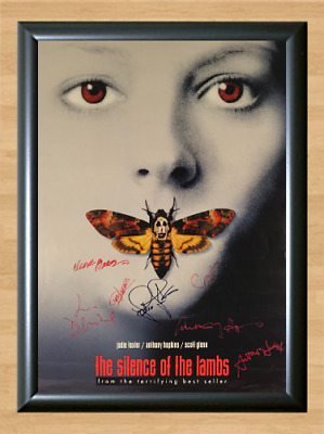 The Silence of the Lambs Cast Signed Autographed A4 Photo Poster Memorabilia dvd