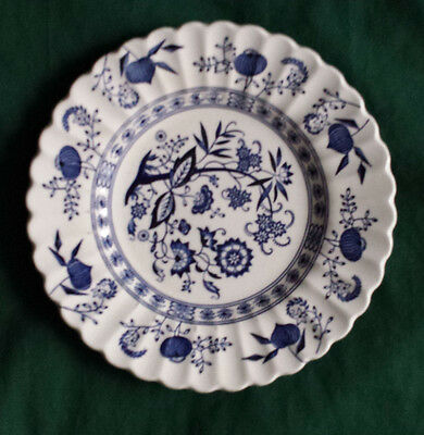 "J&G Meakin Salad Plate 7"" in diameter England Ironstone Blue Nordic Classic"