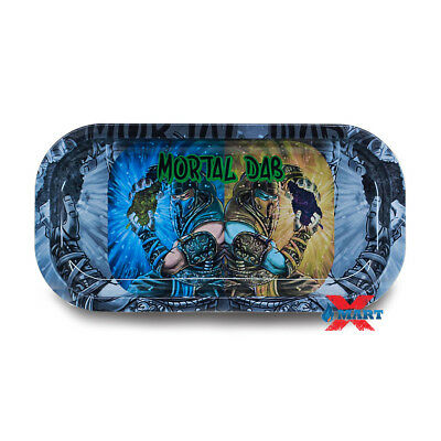 BACKWOODS - Mortal Dabs Tobacco Metal Small Rolling Tray 4x8