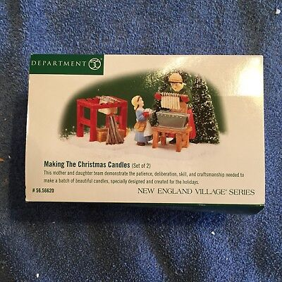 DEPT 56 New England Village - Making The Christmas Candles - 56.56620
