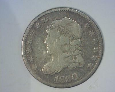 1830 CAPPED BUST HALF-DIME  SILVER   VERY GOOD  ~387027-HHy