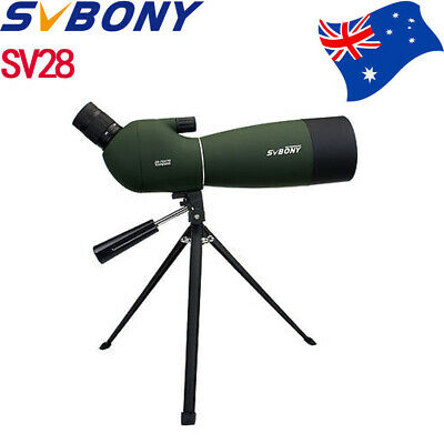 SVBONY SV28 25-75x70mm Angled Zoom Spotting Scope Telescope MC+Tripod+Adapter AU