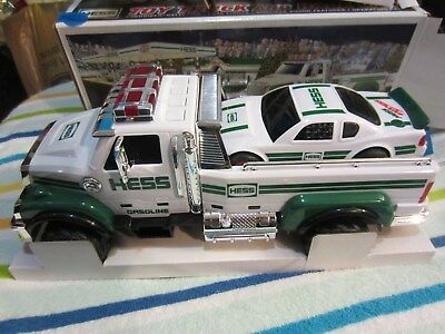 2011 Hess Toy Truck and Race Car NIB