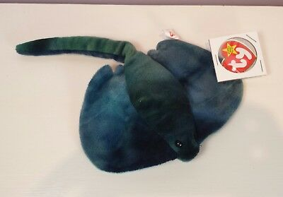 adcff7d03ab NWT STING the Sting Ray Ty Beanie Baby 3rd generation tush new with tags