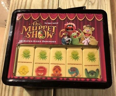 NEW & SEALED The Muppet Show Dominoes Collectible Tin dominos kermit piggy gonzo