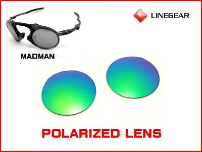 1bf7b0be04 LINEGEAR Replacement Lens for Oakley Madman - Green Jade Polarized  MM-GJ- POLA