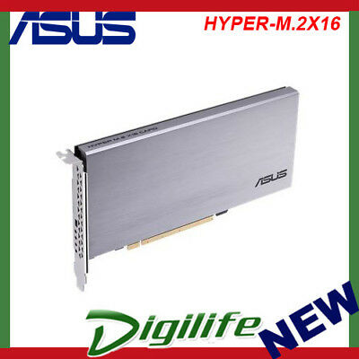 ASUS Hyper M.2 x16 V2 Interface Card PCI Express 3.0
