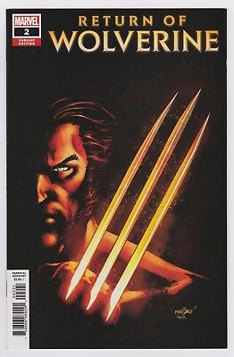 Return of Wolverine #2 (1:25 Marquez variant), NM+, Marvel - CHU