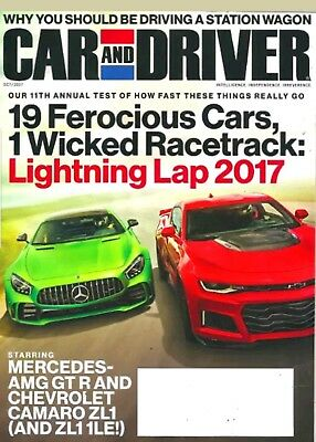 Car And Driver Magazine October 2017 Lightning Lap Should Drive Station Wagon