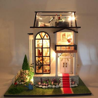 Handmade Doll House DIY Doll Houses Miniature Dollhouse Wooden Toy Children Gift