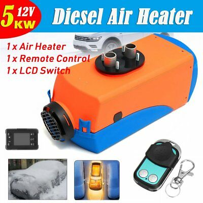 12V 5KW Diesel Air Parking Heater Diesel Heating Air Parking Heater with Control