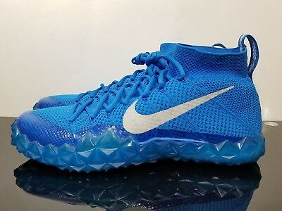 wholesale dealer ba4c1 3af39 Nike Alpha Sensory Men s Blue Football Turf Training Shoes 854312-404 Size  12