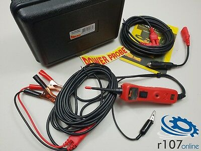 Power Probe 3 Auto Electrical Circuit Tester. 20ft Extension etc PPR319FTC