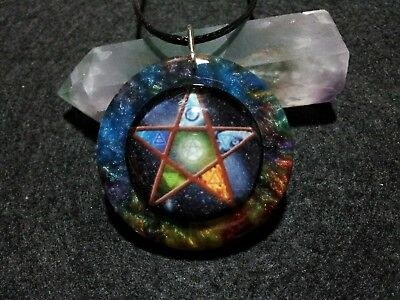 Pentacle Pendant,spiritual,pagan, wiccan jewelry, witchcraft,protection,symbolic