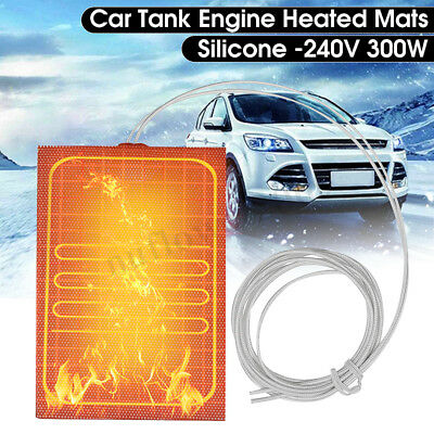 Engine Oil Pan Sump Tank Heater 220~240V 300W Protection Engine Reduce Wear EUR