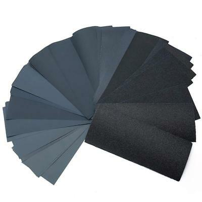 Wet Dry Sandpaper 80-600 800 1000 1200 1500 2000 2500 3000 Grit Assorted Wood