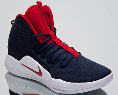Nike Hyperdunk X USA Men s Basketball Shoes Navy Blue University Red  AO7893-400 e51618cb4