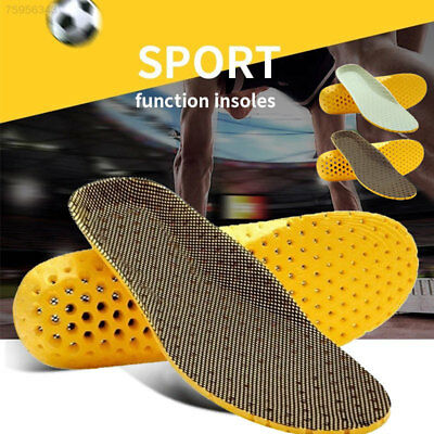 4F18 Foot Arch Support Insoles Shock Absorption Shoe-pad Sports Cushion Insert