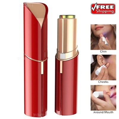 Women Electric Hair Remover Lip Stick Shaver Razor Trimmer Shaving Facial Device