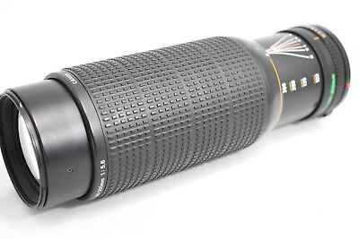Canon New FD 100-300mm 1:5.6 Lens *For Parts* #D013f