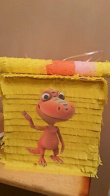 Dinosaur Train Pinata With Sweets Birthday Party Stick Can Be
