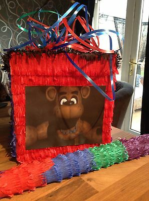 5 five Nights At Freddy's FNAF Pinata with Sweets & Stick Party FREDDYS