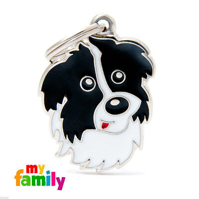 Placa identificativa Border Collie