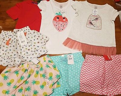 Bulk Buy- BNWT Girls Summer Clothing- Size 5-6