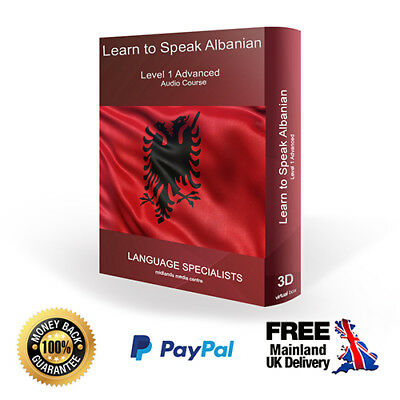 Learn To Speak Albanian - Advanced Language Audio Course Level 1