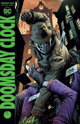 DOOMSDAY CLOCK #7 WATCHMEN Variant B GARY FRANK 2018 Ships NOW! FAST!!!