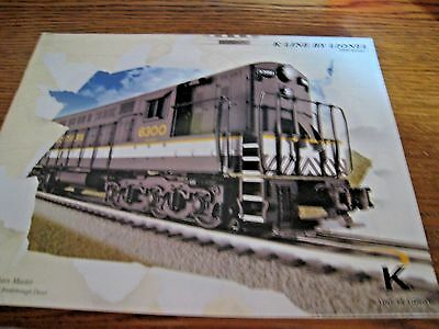 MODEL TRAIN CATALOG - K-LINE BY LIONEL - 2009 Volume 1 - Unused