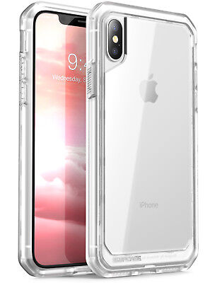 SUPCASE iPhone X / Xs Case, Unicorn Beetle Series Hybrid Clear Cover For Apple