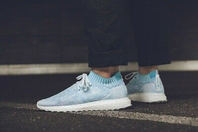 sale usa online competitive price clearance sale ADIDAS ULTRA BOOST Parley ST Mens Running Shoes - Navy - EUR ...