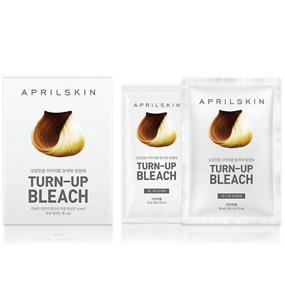 Aprilskin April Skin Turn-up Bleach Hair Color Dying Styling Korean Cosmetics
