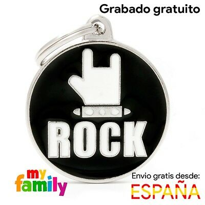 Placa identificativa Rock