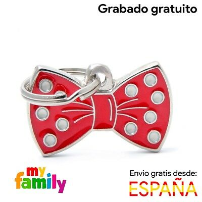 Placa identificativa Red Papillon