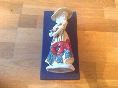 Old Tupton Ware Figurine ( Susie ) 20cm In Height Handpainted New & Boxed