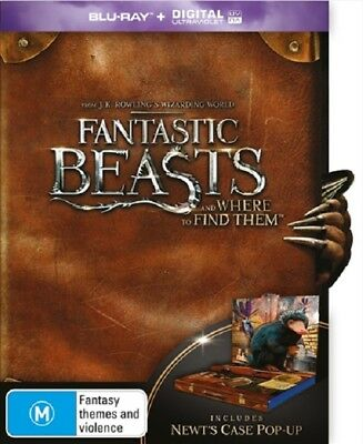 Fantastic Beasts and Where to find them - Newt pop up case [Blu-ray] New
